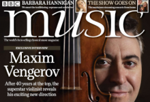 Maxim Vengerov cover feature BBC Music Magazine by Richard Morrison